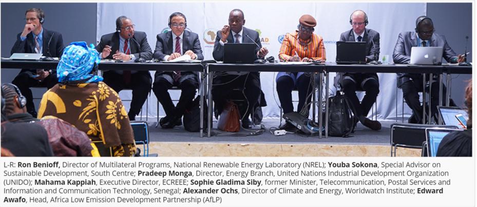 COP21_Panel_AfricanPavilon